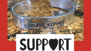 "Great Falls teacher makes ""MT Strong"" bracelets to support community"