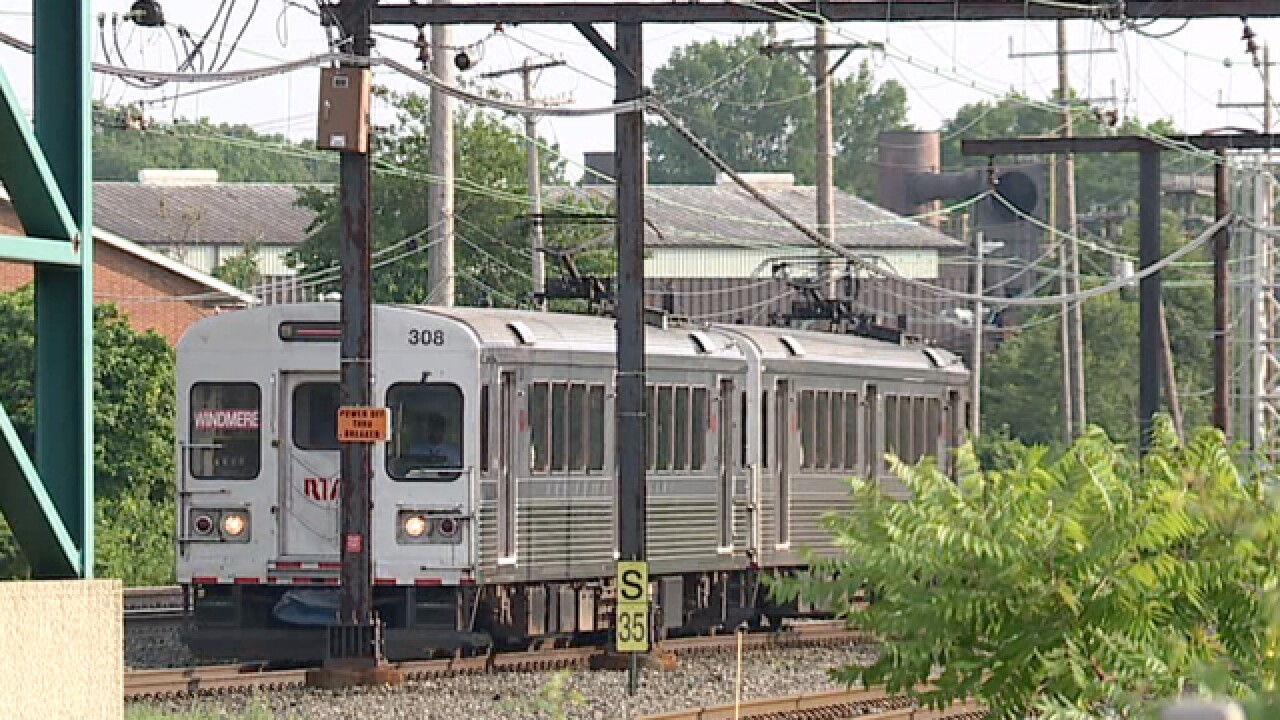 RTA Red Line delays caused by high heat
