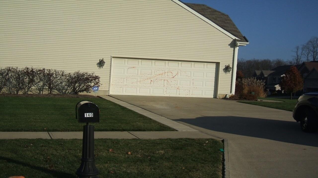 Hot sauce vandalism leaves neighbors heated
