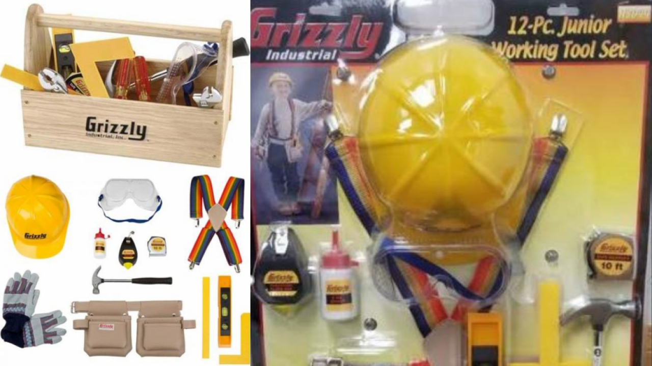 Grizzly Industrial Children's Tool Kits