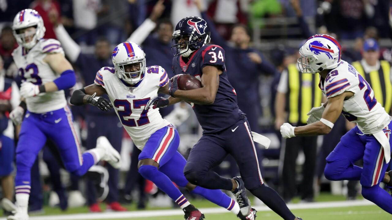 Bills bring back RB & special teams standout Taiwan Jones