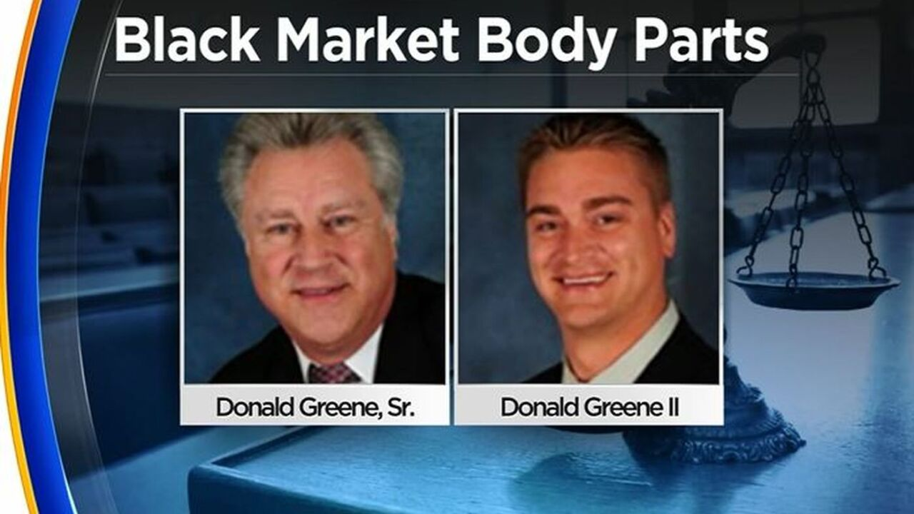 Illnois father, son accused of selling body parts on black market