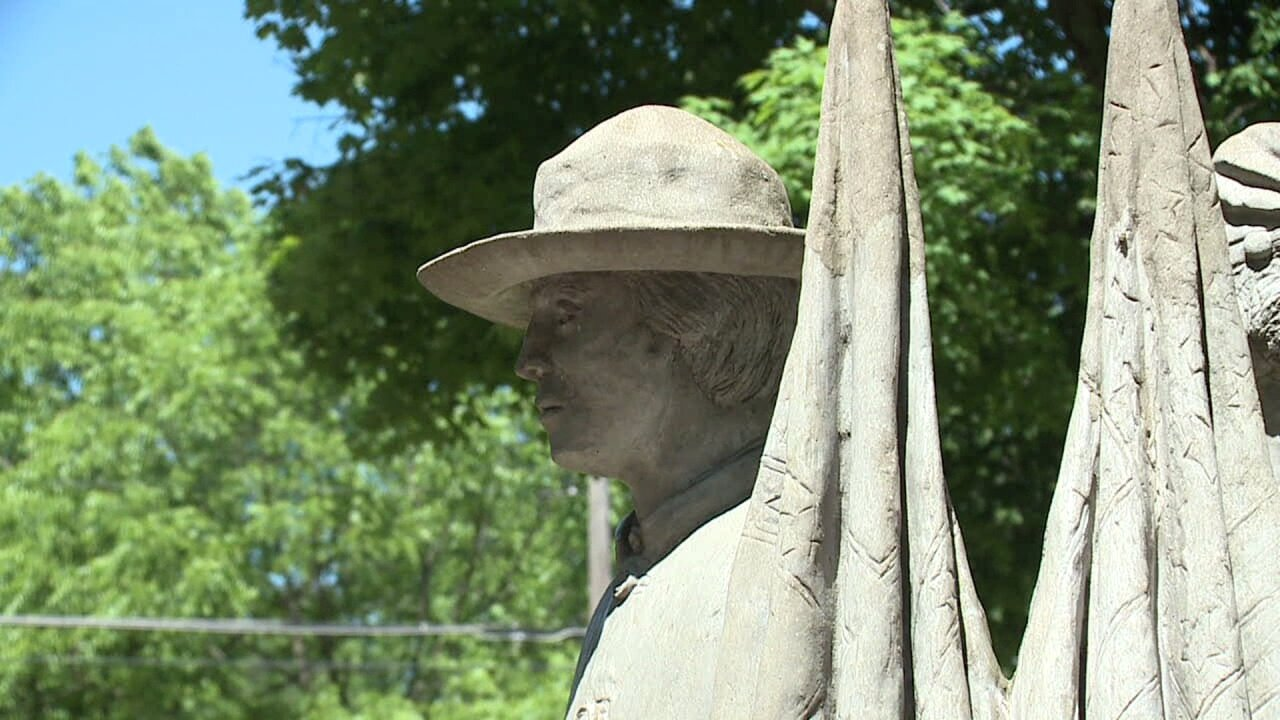 Allendale Twp. Confederate Soldier Statue