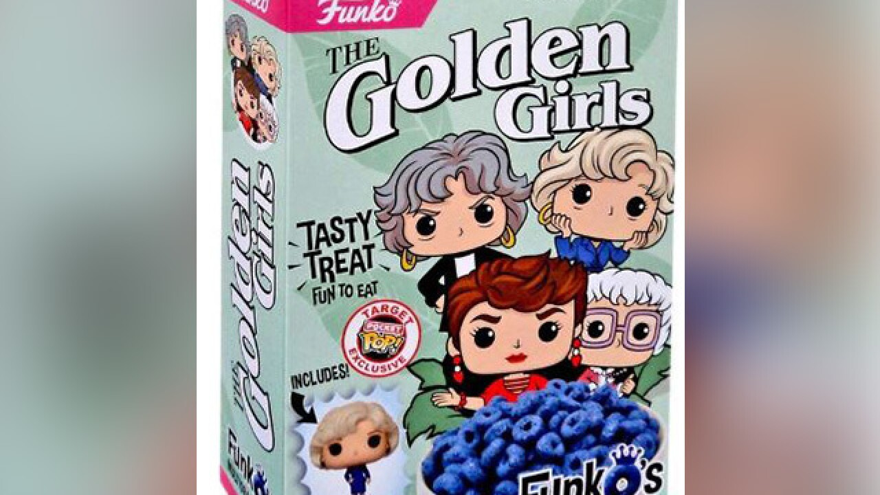 'The Golden Girls' cereal available in stores now