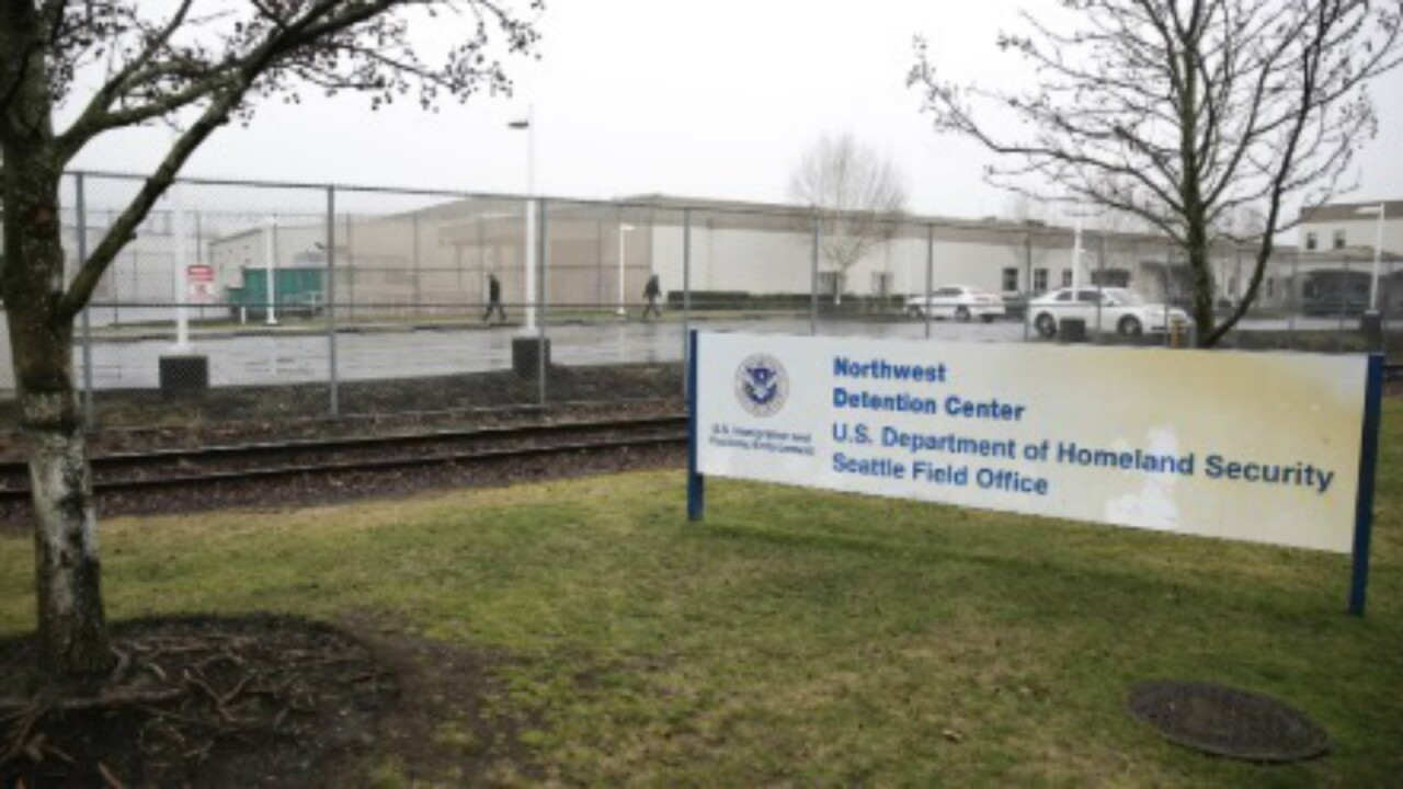 Man accused of hurling incendiary devices at Washington ICE facility fatally shot by police
