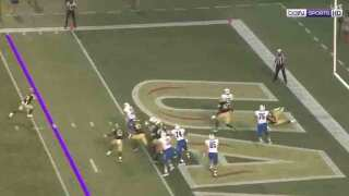 Vogel's FG Gives UAB 25-23 Win Over Middle Tennessee