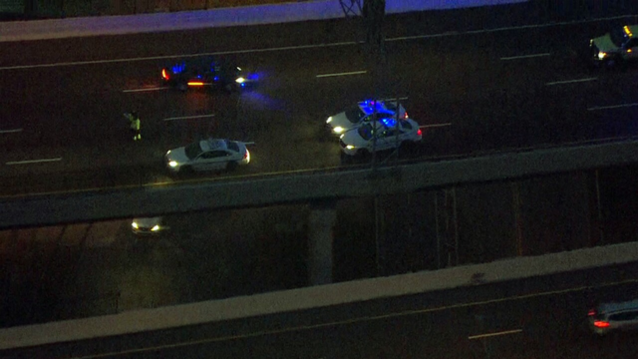 1 killed after concrete goes through windshield