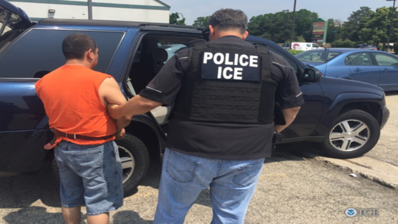 PHOTOS: 25 arrests in Indy immigration crackdown
