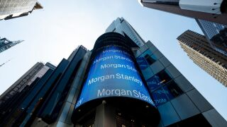 The Morgan Stanley Global Headquarters are pictured on April 17, 2019 in New York City. (Photo by Johannes EISELE / AFP) (Photo credit should read JOHANNES EISELE/AFP via Getty Images)