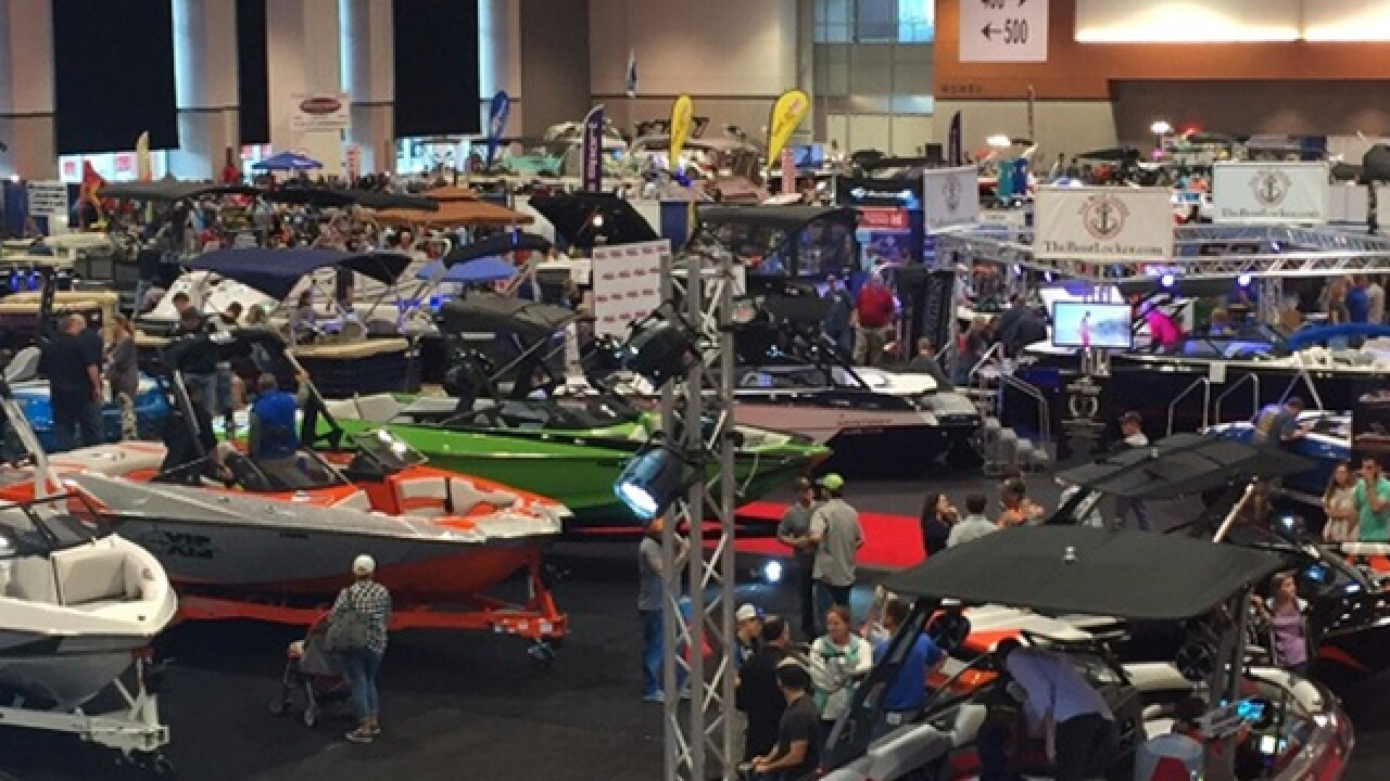 Nashville Boat Show Kicks Off Downtown