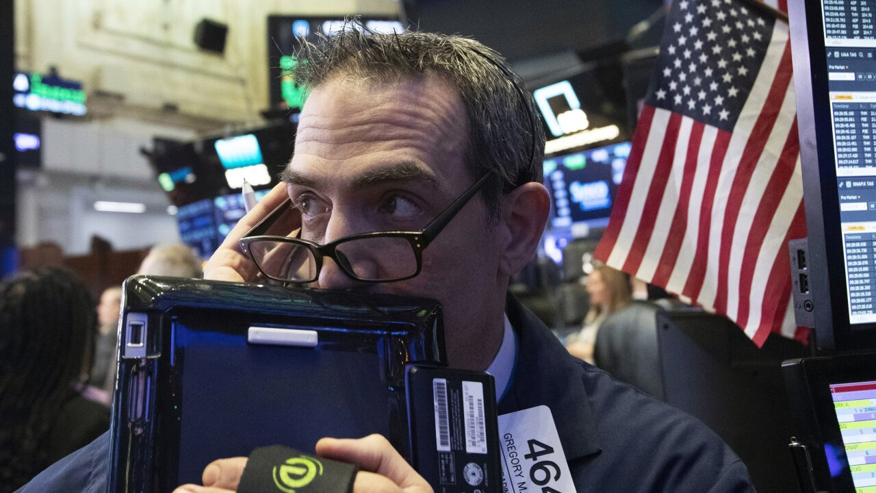 Dow suffers worst week since 2008 financial crisis