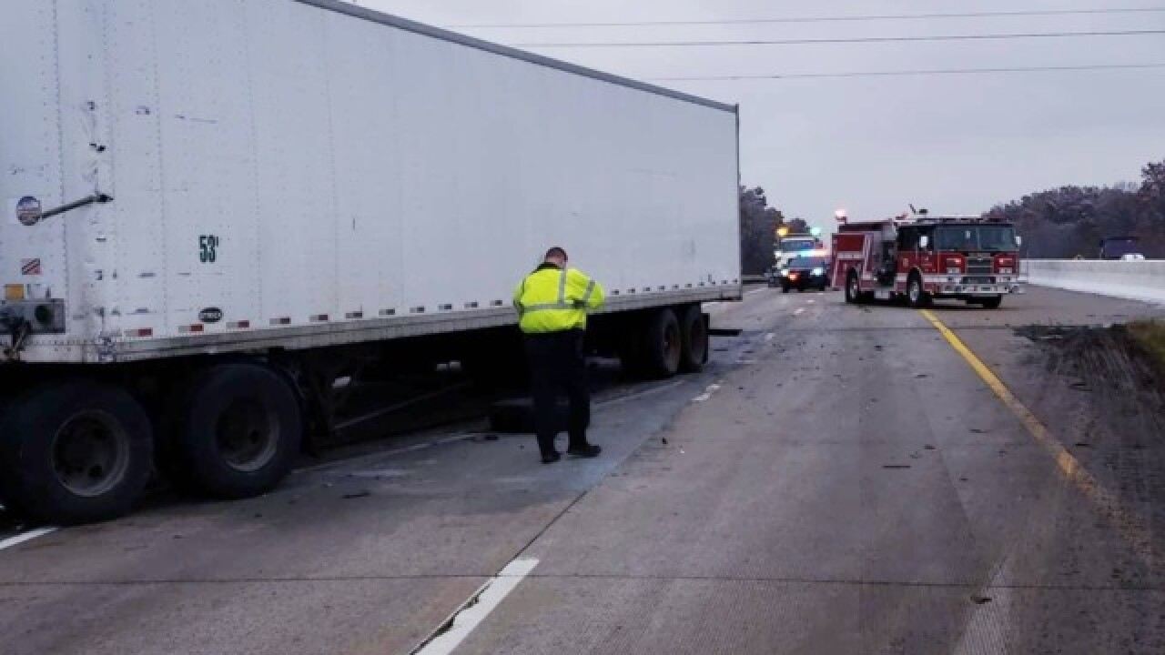 Diesel tank spill closes I-76 and SR 532