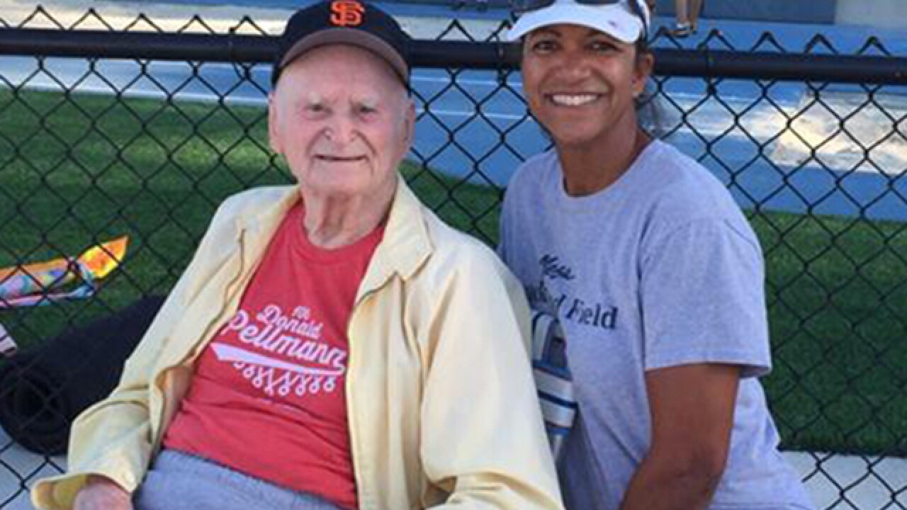 100-year-old breaks 5 world records in track