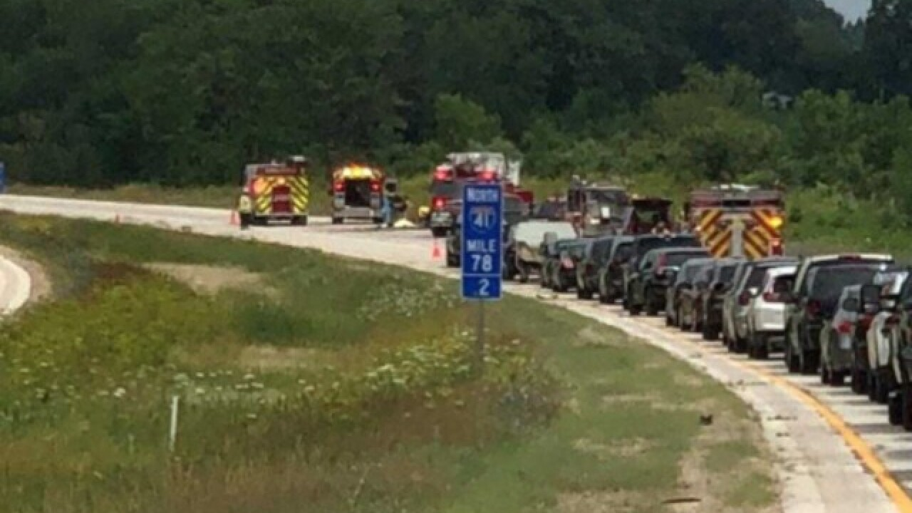 One killed, two hospitalized in I-41 crash