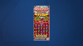 $20 Monopoly scratch-off game