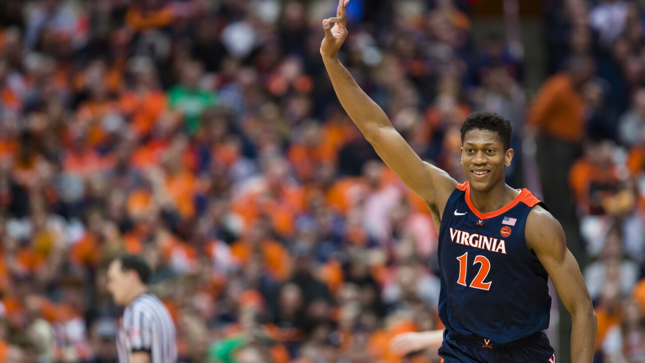 UVA's De'Andre Hunter, Kyle Guy earn All-America accolades