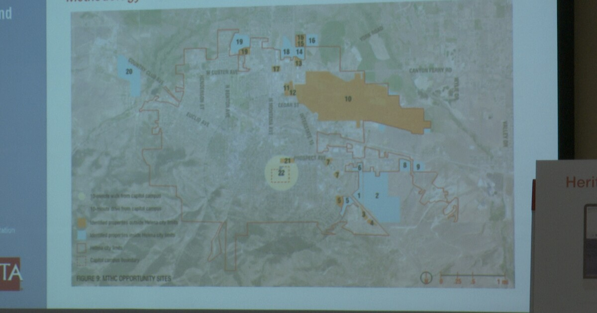 New evaluations of possible Montana Heritage Center sites