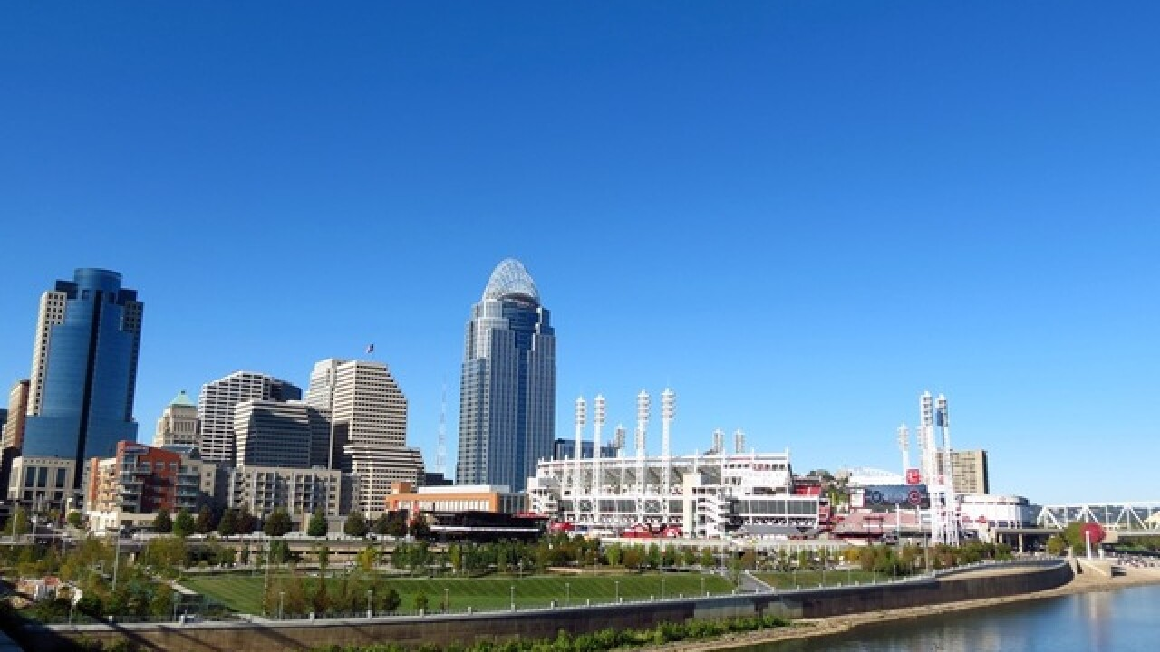 Greater Cincy, it's just flat-out goin' on here