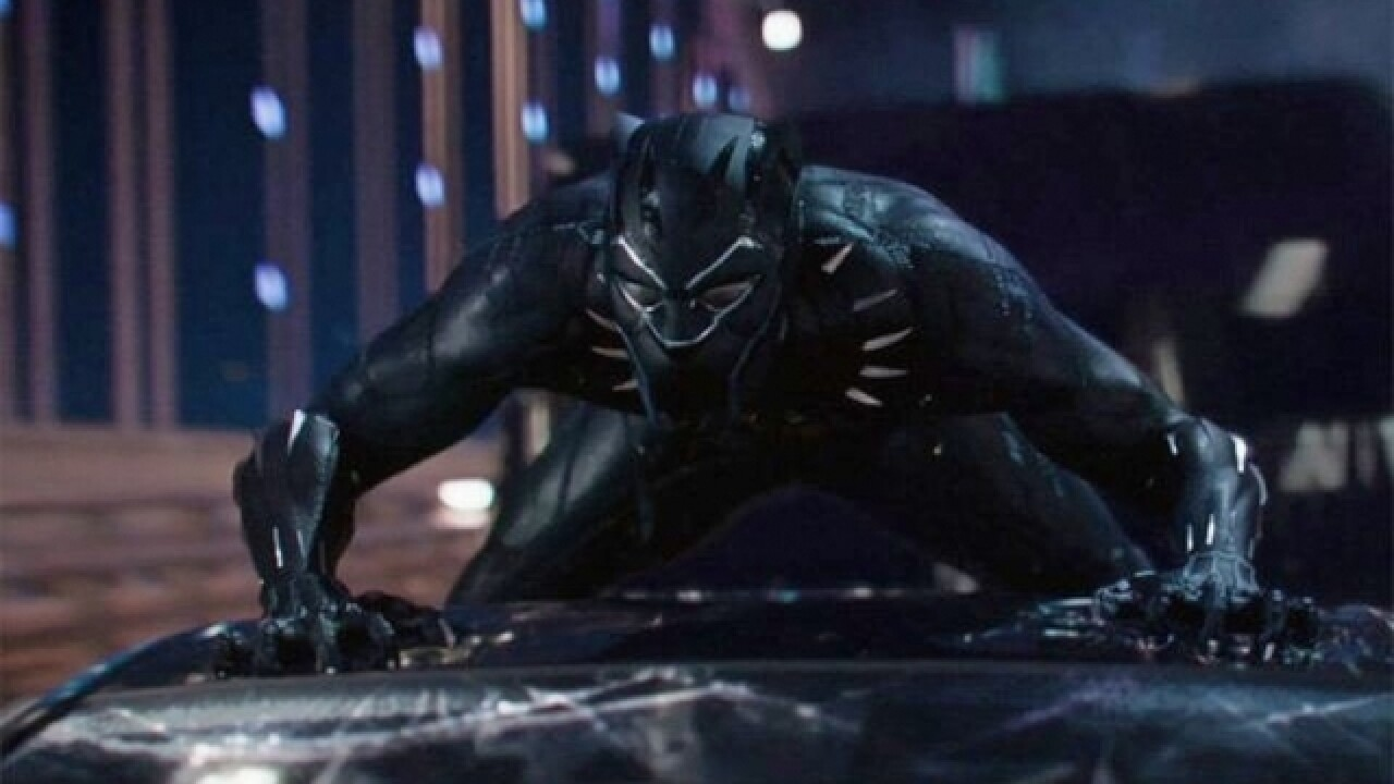 'Black Panther' brings in a record-breaking box office weekend