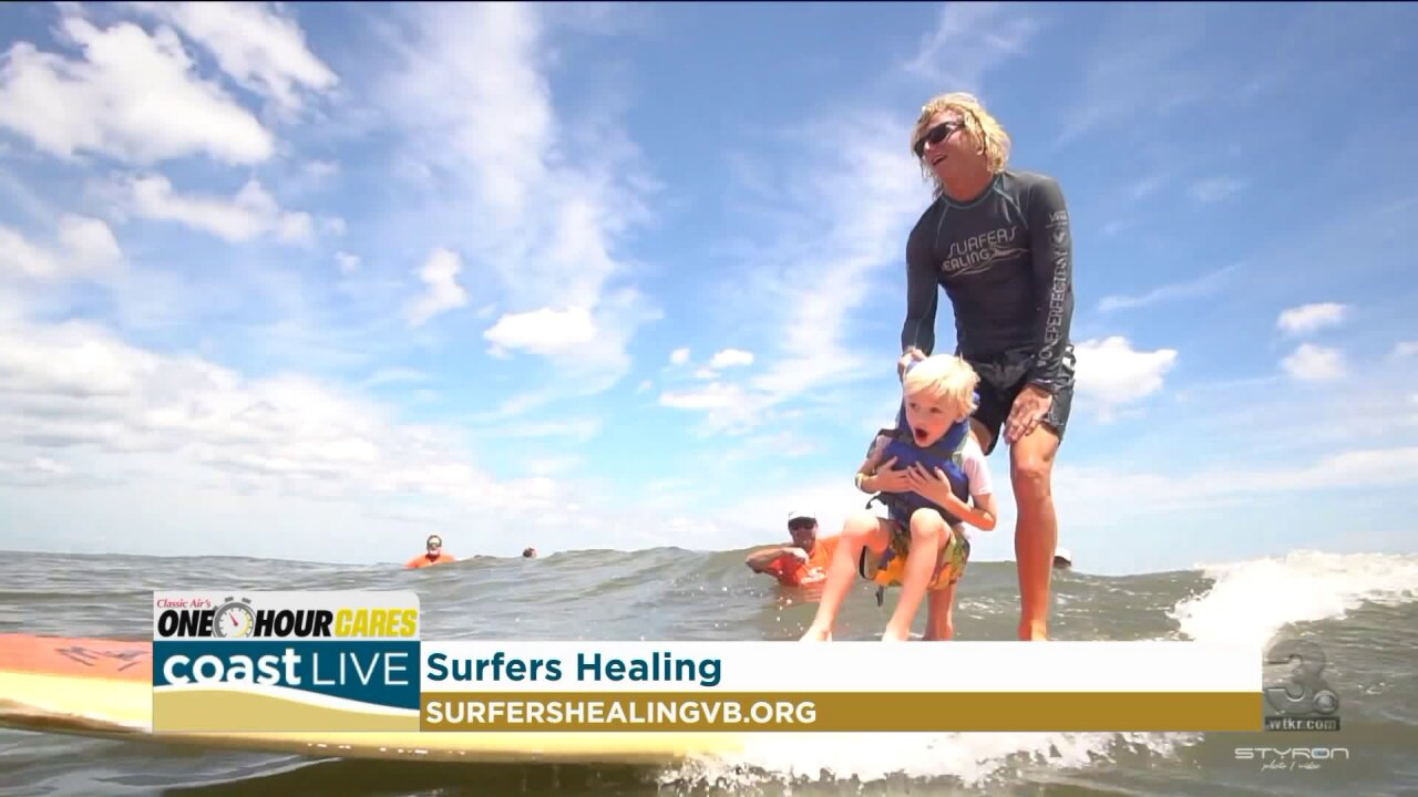 A Virginia Beach surf camp for children with autism on Coast Live
