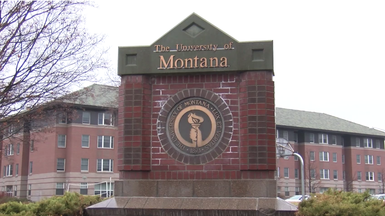 University of Montana Campus Missoula