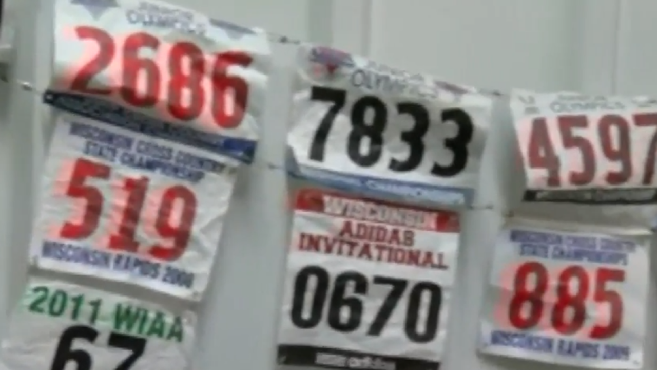 Bibs from wisconsin triathlons