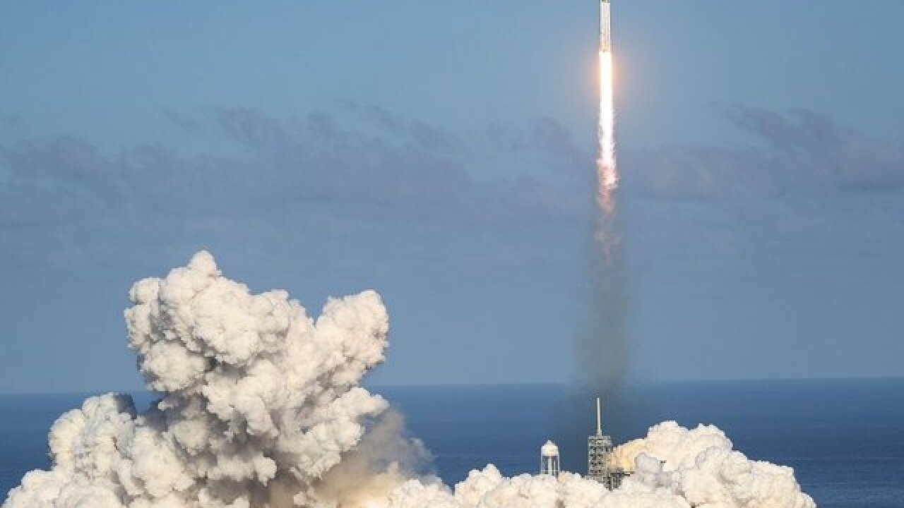 SpaceX rocket launches Thursday afternoon from Cape Canaveral