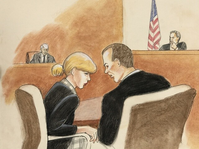 Gallery: See sketches from inside the Taylor Swift groping case