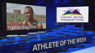 KOAA Athlete of the Week: Tyrese Vanhorne, Harrison Sprinter