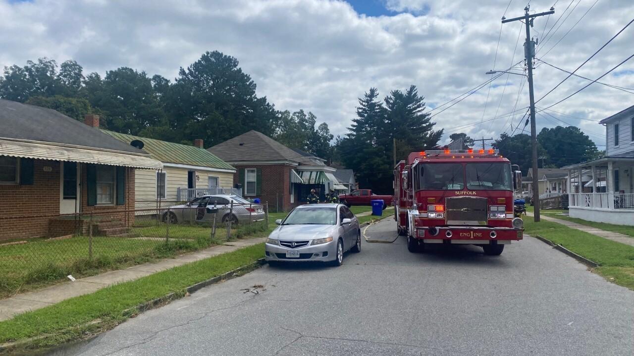 SU 100 Bute Street house fire (September 2)
