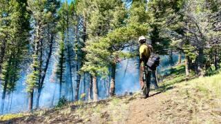 Deep Creek Fire June 22 Update