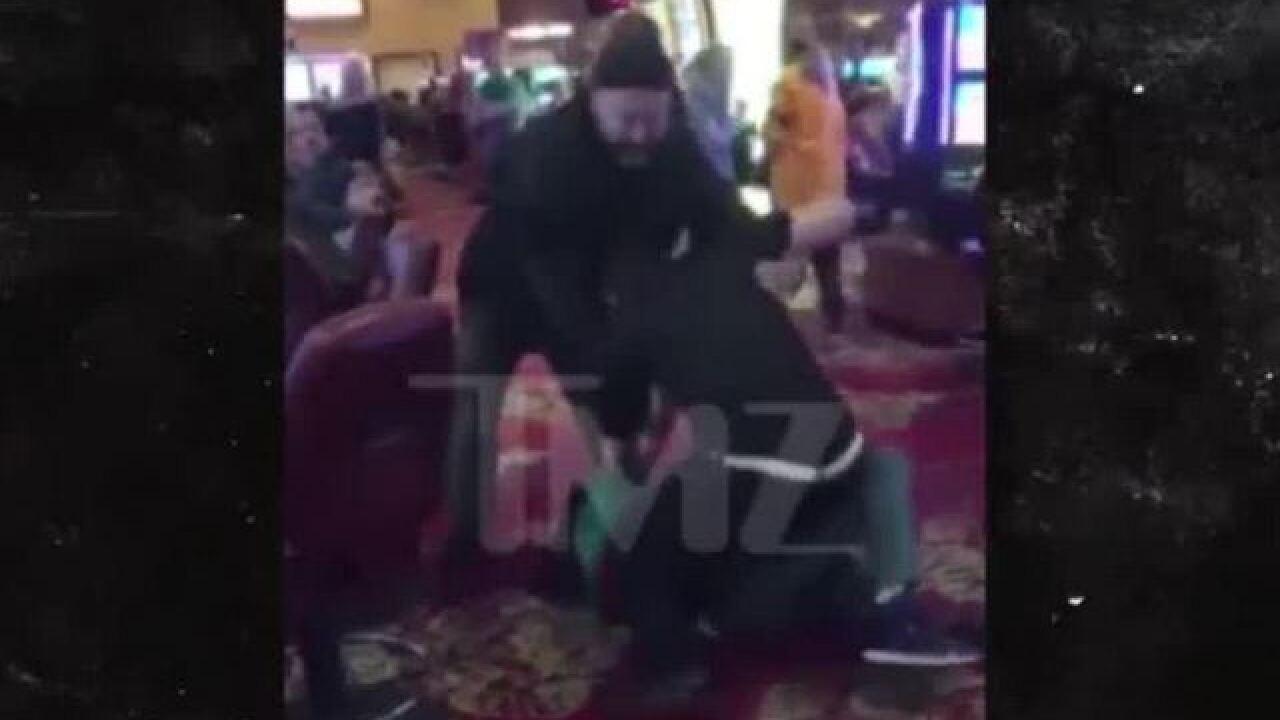 Video: Flavor Flav attacked at Las Vegas
