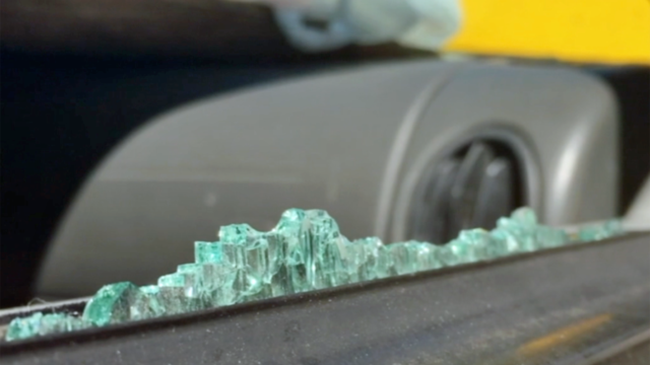 Auto burglaries drive up glass repair work