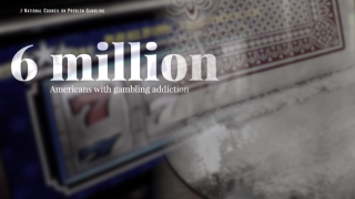 Estimated 2% of Americans suffer with gambling addiction as gripping as drugs or alcohol