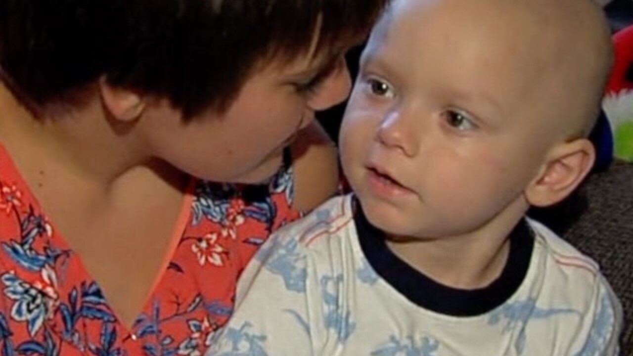 Christmas comes early for toddler with cancer