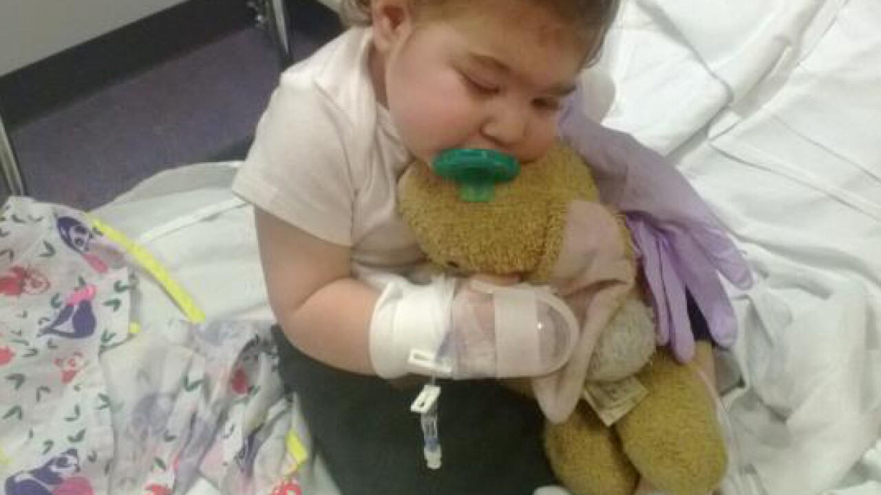 Dying 2-year-old to be couple's best man