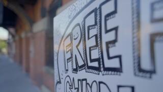 Free food fridge