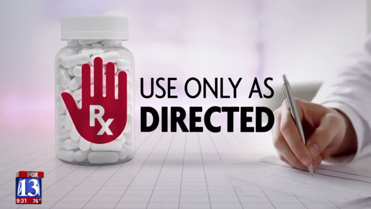 Use Only As Directed: a Fox 13 News special report on the opioid crisis