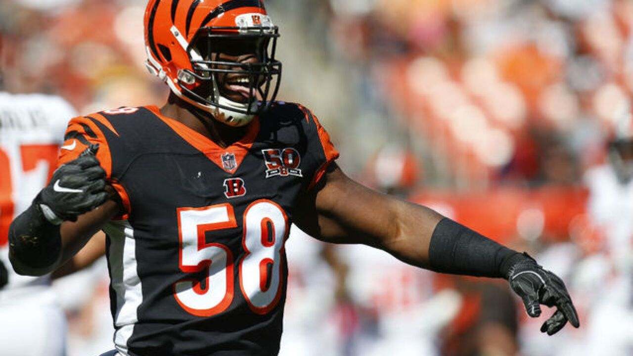 After breakout rookie season, Cincinnati Bengal Carl Lawson says he's still got something to prove