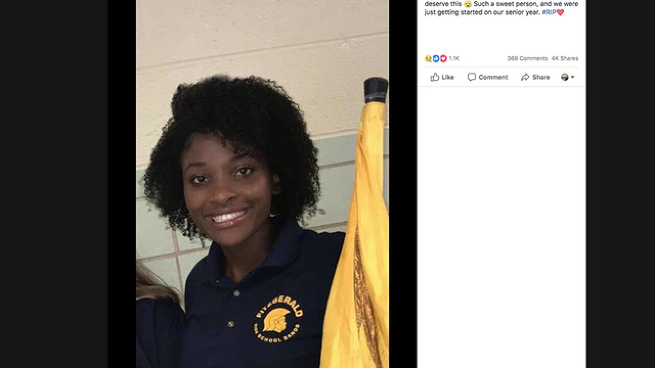 Funeral arrangements announced for girl fatally stabbed at Fitzgerald High School in Warren