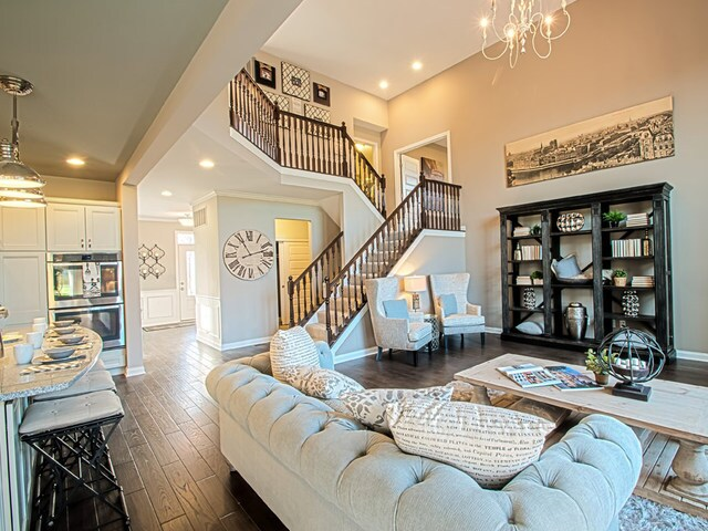 Fischer Homes - The Clay - A top selling home with distinctive living spaces