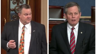 US Senators Jon Tester and Steve Daines