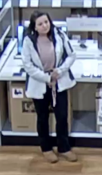Photos: Suspect wanted in Suffolk for alleged connections to credit card theft, credit cardfraud