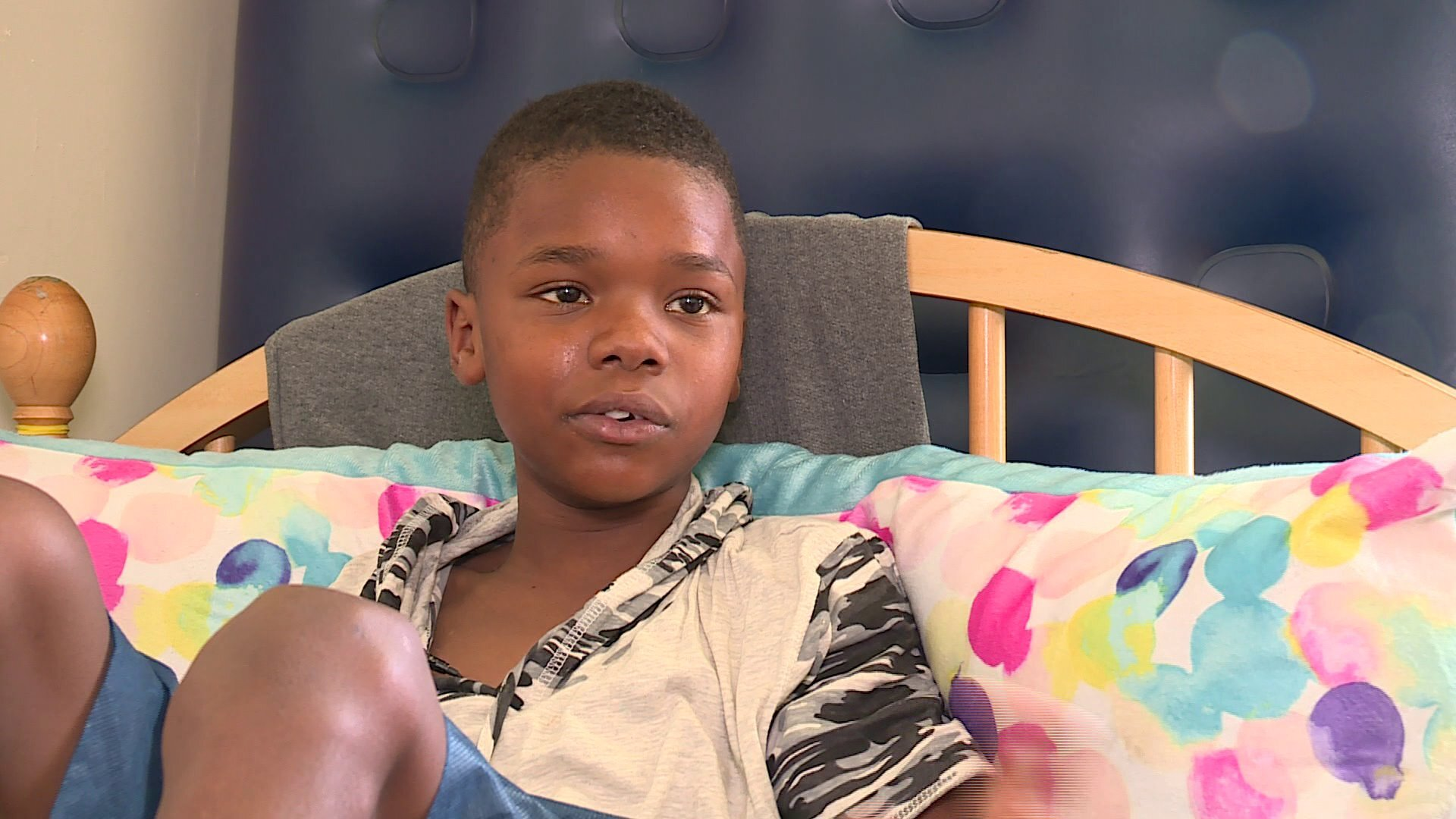 Photos: 12-year-old shot at Buckroe Beach speaks out: 'They didn't expect me to live'