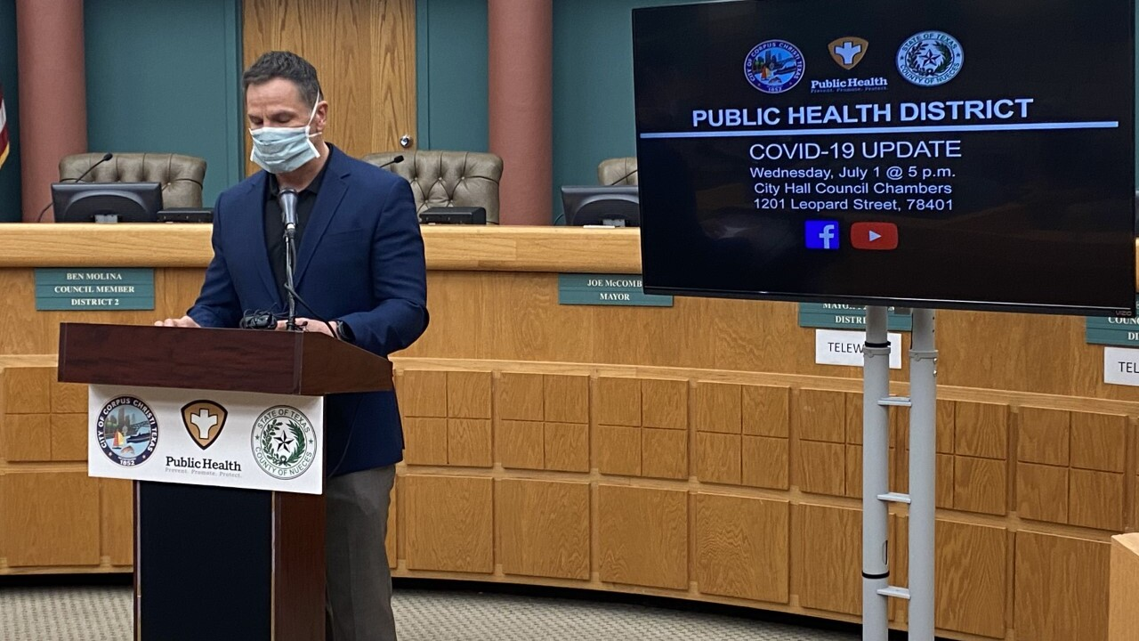WATCH: Pandemic update from local officials Thursday