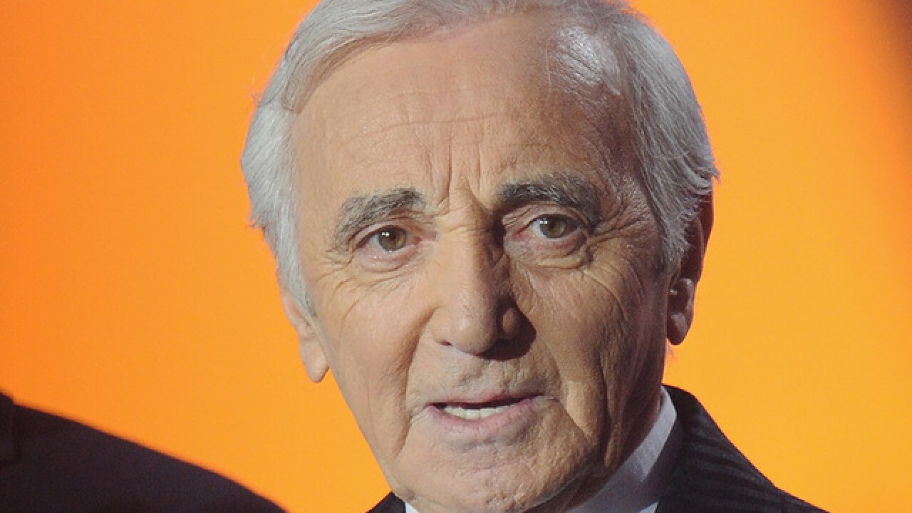 Charles Aznavour, the 'Frank Sinatra of France', dies at 94