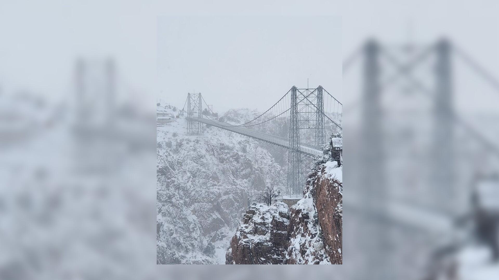 Royal Gorge Bridge in the Snow Jim Jacobs.jpg