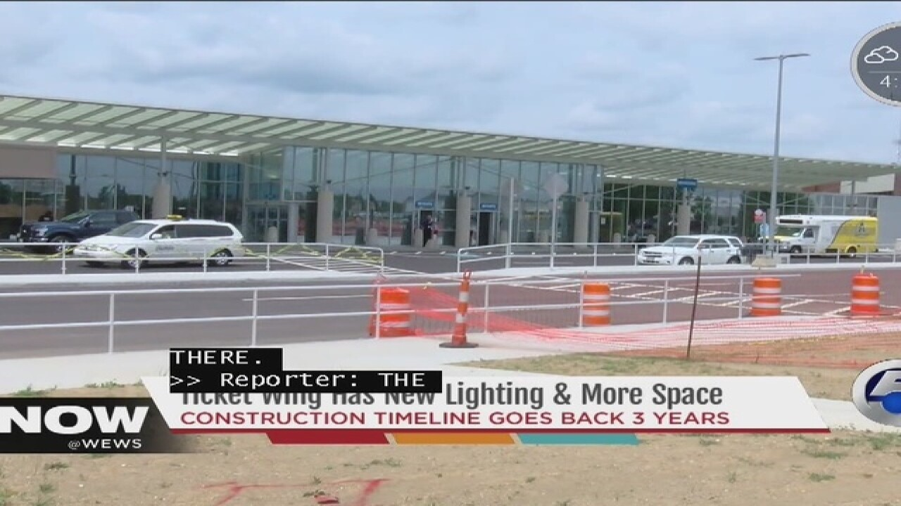 Major improvements at Akron-Canton Airport...