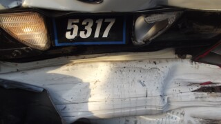Three patrol cars hit in two days
