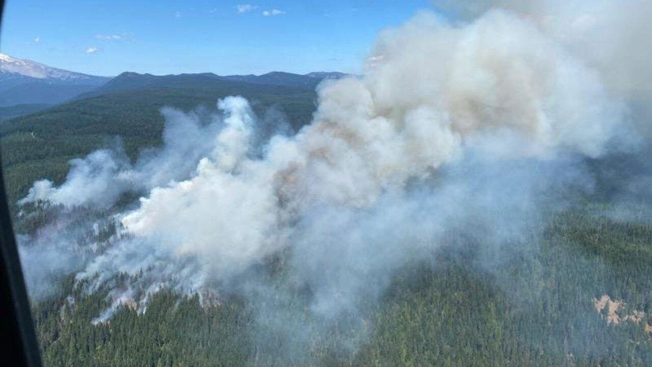 KPTV White River Fire